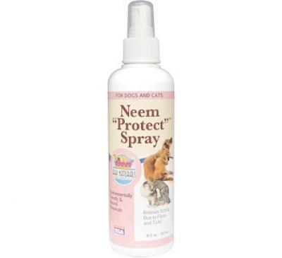 """Ark Naturals, Защитный спрей Neem """"Protect"""" Spray, для кошек и собак, 8 fl oz (237 мл)"""