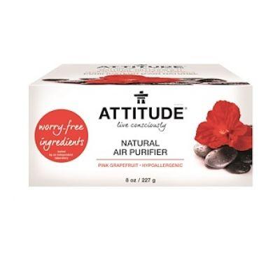 ATTITUDE, Натуральный очиститель воздуха, Розовый грейпфрут, 8 унций (227 г)