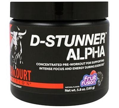"""Betancourt, """"D-Stunner альфа"""", предтренировочный комплекс со вкусом ягодной смеси, 5,8 унции (165 г)"""