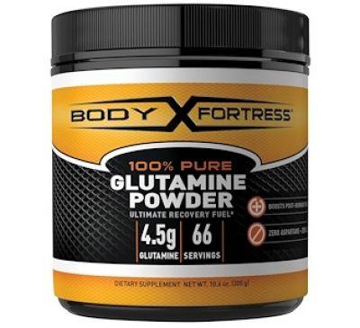 Body Fortress, 100% чистый глютамин в порошке, 10.6 унций (300 г)