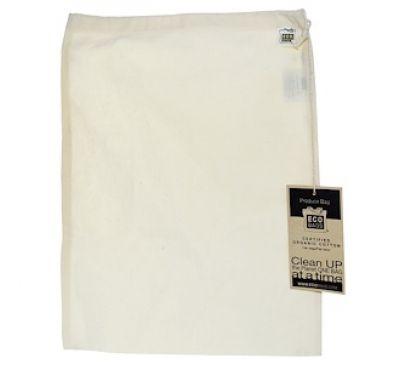ECOBAGS, Продуктовая сумка из органического хлопка, большая, 1 сумка, ширина 12 х высота 15