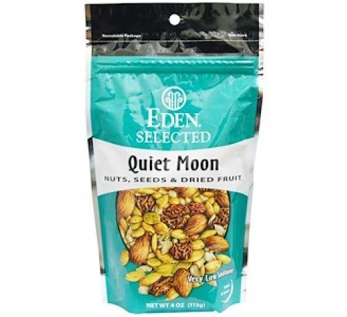 """Eden Foods, Selected, """"Тихая луна"""", смесь орехов, семян и сухофруктов, 4 унции (113 г)"""