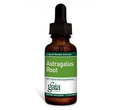 Gaia Herbs, Корень астрагала, 30 мл