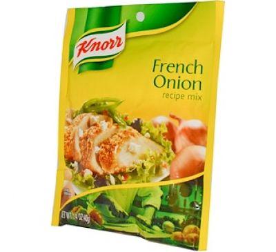 """Knorr, Смесь """"Французский луковый рецепт"""", 1,4 унции (40 г)"""