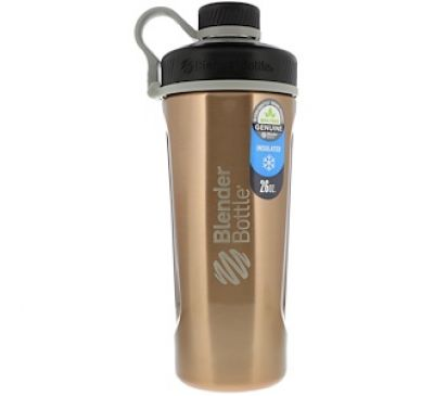 Sundesa, Blender Bottle Radian, Insulated Stainless Steel, Copper , 26 oz