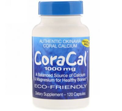 21st Century, CoraCal, 1,000 mg, 120 Capsules