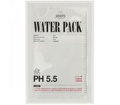 23 Years Old, Water Pack, 4 Sheets, 30 g Each