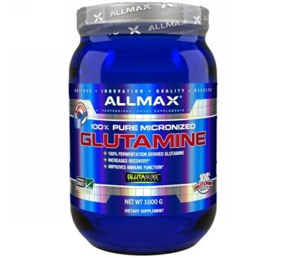ALLMAX Nutrition, 100% Pure Micronized Glutamine, 2.20 lbs (1,000 g)