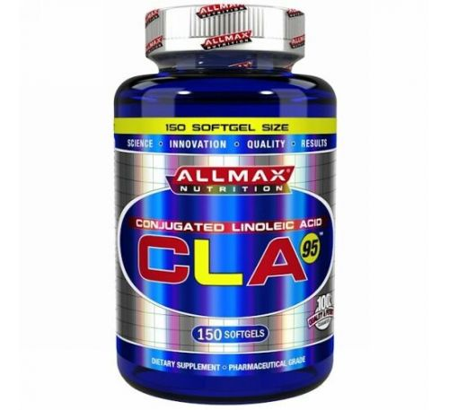 ALLMAX Nutrition, CLA95, 1,000 mg, 150 Softgels