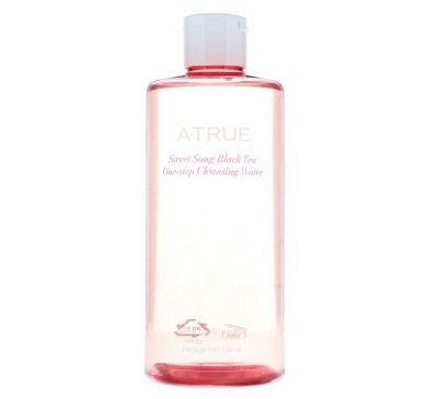 ATrue, Sweet Song Black Tea One-Step Cleansing Water, 300 ml