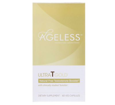 Ageless Foundation Laboratories, UltraT Gold, 60 Veg Capsules