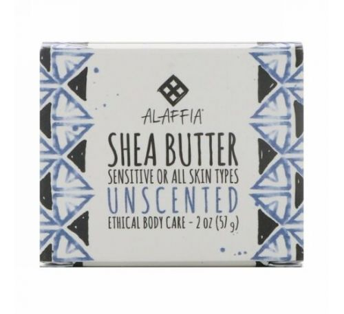 Alaffia, Shea Butter, Unscented, 2 oz (57 g)