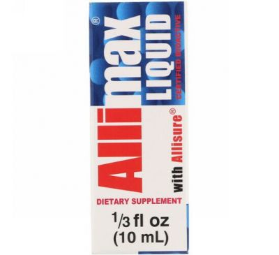 Allimax, Liquid with Allisure, 1/3 fl oz (10 ml)