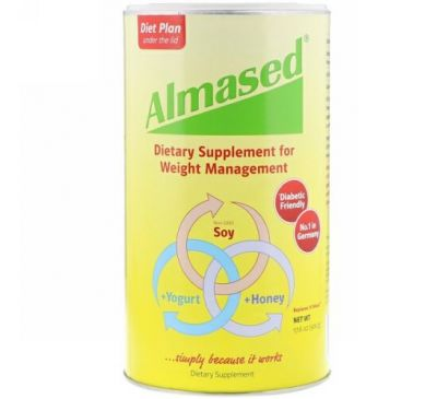 Almased USA, Almased, 17,6 унции (500 г)