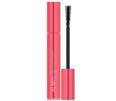 Almay, Mega Volume Mascara, 010, Blackest Black, 0.34 fl oz (10 ml)