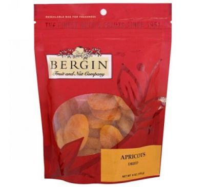 Bergin Fruit and Nut Company, Apricots, Dried, 6 oz (170 g)