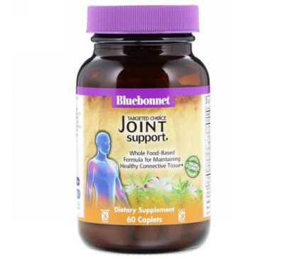 Bluebonnet Nutrition, Targeted Choice, Joint Support, 60 Caplets
