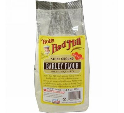 Bob's Red Mill, Barley Flour, 20 oz (567 g)