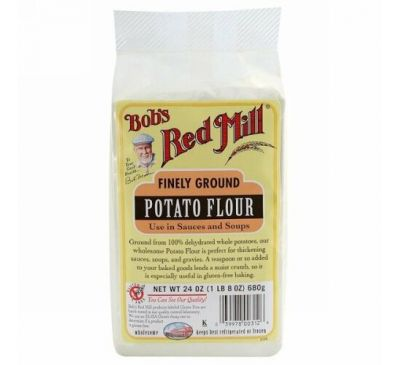 Bob's Red Mill, Finely Ground Potato Flour, Gluten Free, 24 oz (680 g)