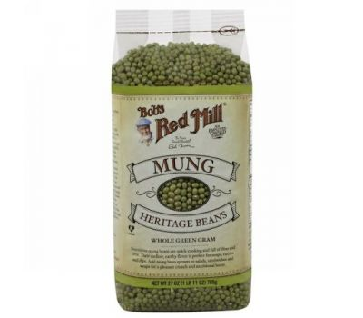 Bob's Red Mill, Mung Heritage Beans, 27 oz (765 g)