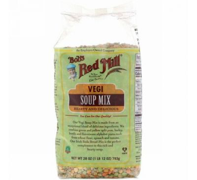 Bob's Red Mill, Vegi Soup Mix, 28 oz (793 g)