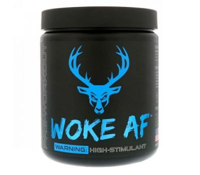 Bucked Up, WOKE AF, Pre-Workout, Blue Raz, 12.61 oz (357.6 g)