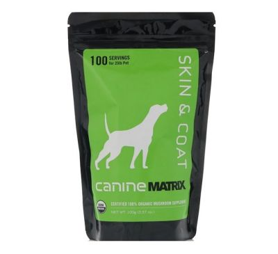 Canine Matrix, Кожа и шерсть, для собак, 3,57 унц. (100 г)