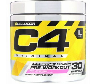 Cellucor, C4 Original Explosive, Pre-Workout, Pink Lemonade, 6.88 oz (195 g)
