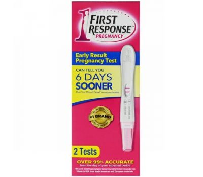 First Response, Early Result Pregnancy, 2 Tests